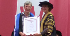 Judy Jacka made an Honorary Fellow of Western Sydney Unversity